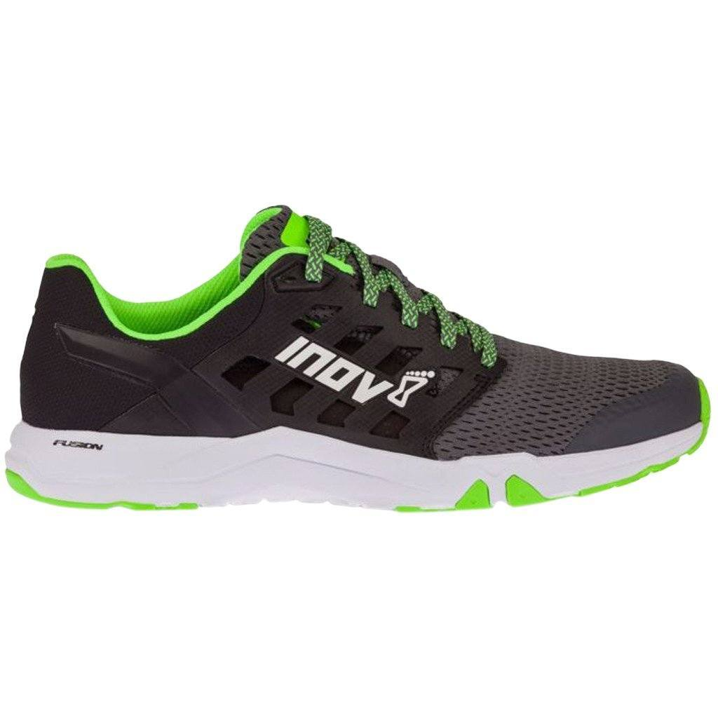 Footwear - Inov8 All Train 215 Grey/Black/Green