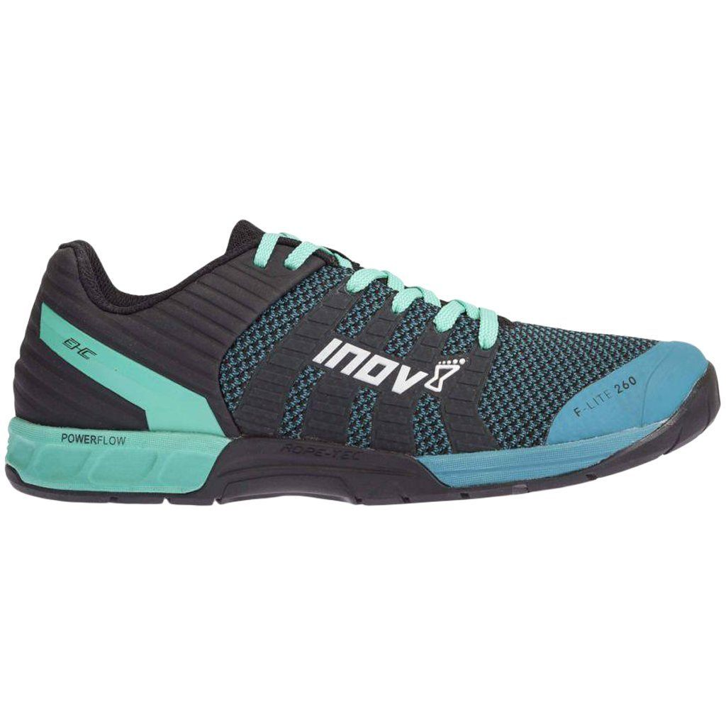 Footwear - Inov8 F-Lite 260 Knit Teal / Black