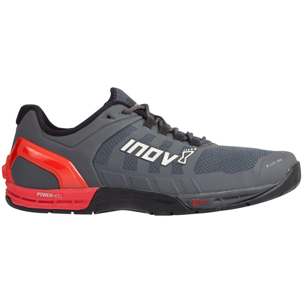 Footwear - Inov8 F-Lite 290 Grey/Red