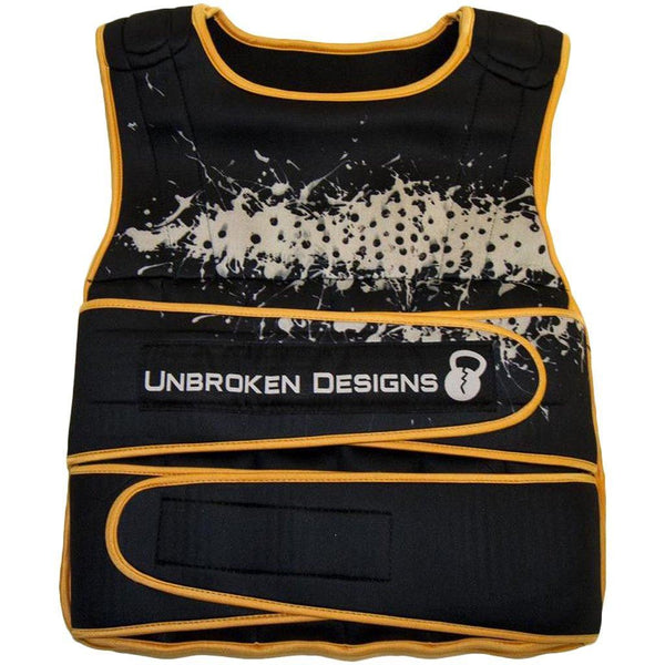 Gym Accessories - Unbroken Designs Splatter Weighted 30lb Vest