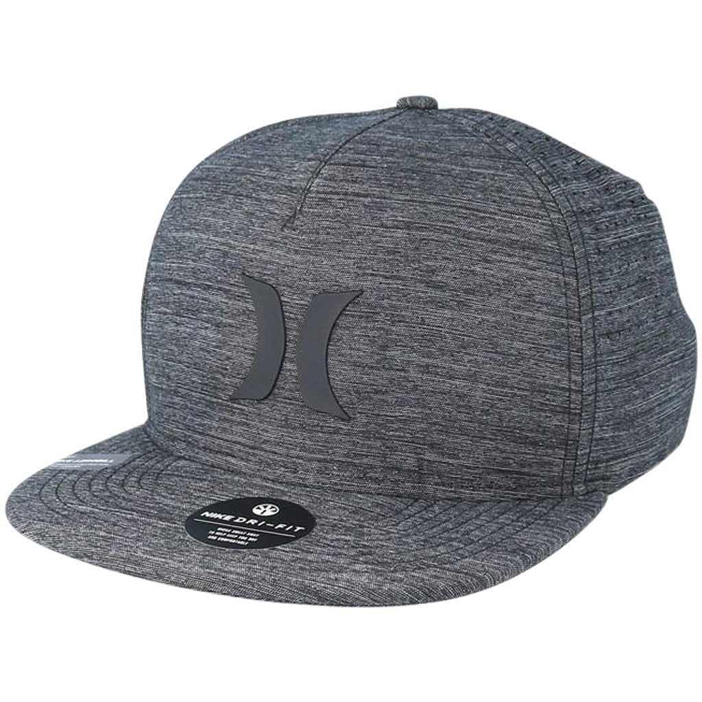 Headwear - Hurley Dri-fit Icon 4.0 Hat Cool Grey/Black