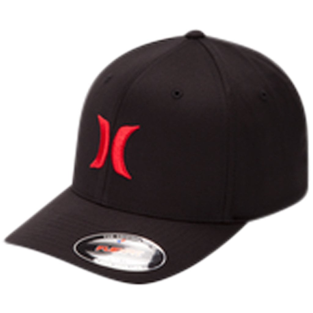 Headwear - Hurley One & Only Hat Black/Red