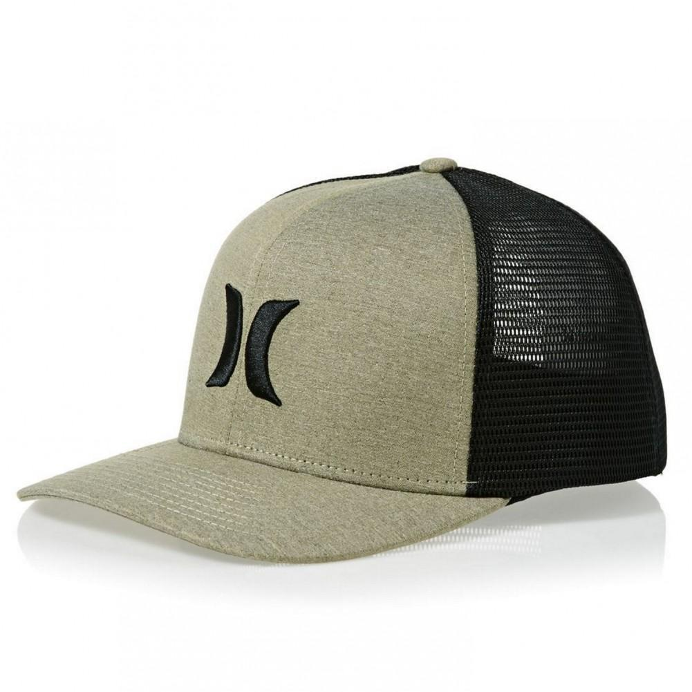 Headwear - Hurley One & Textures Trucker Buff Gold