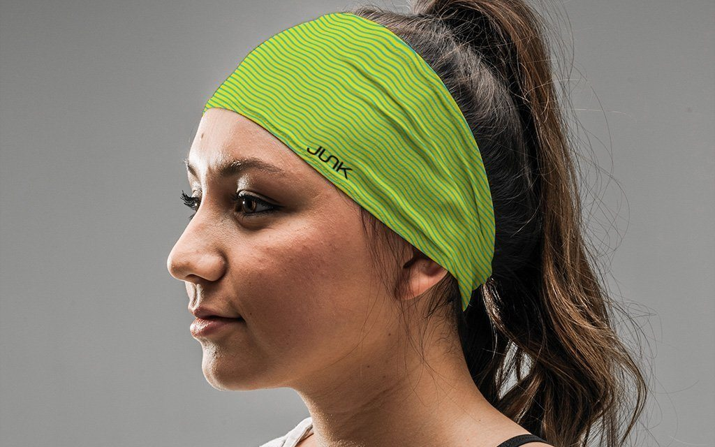 Headwear - Junk Verde Wave Headband