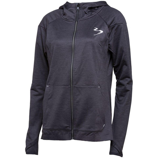 Hoodie - Beach Body Elevate Tech Jacket Black Heather