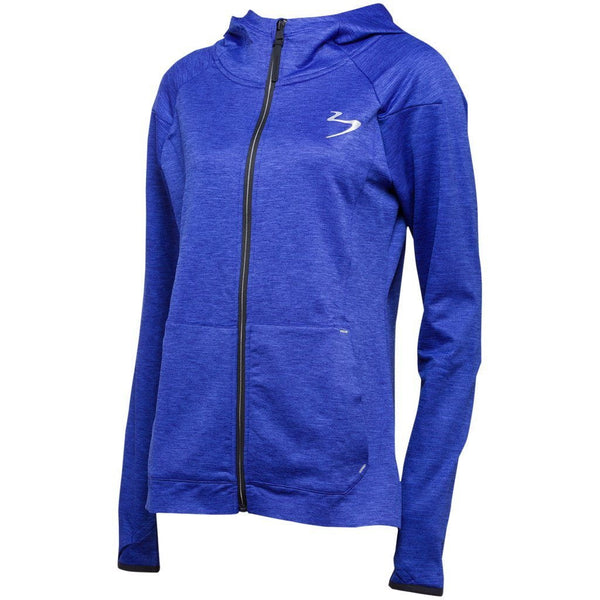 Hoodie - Beach Body Elevate Tech Jacket Sapphire Heather