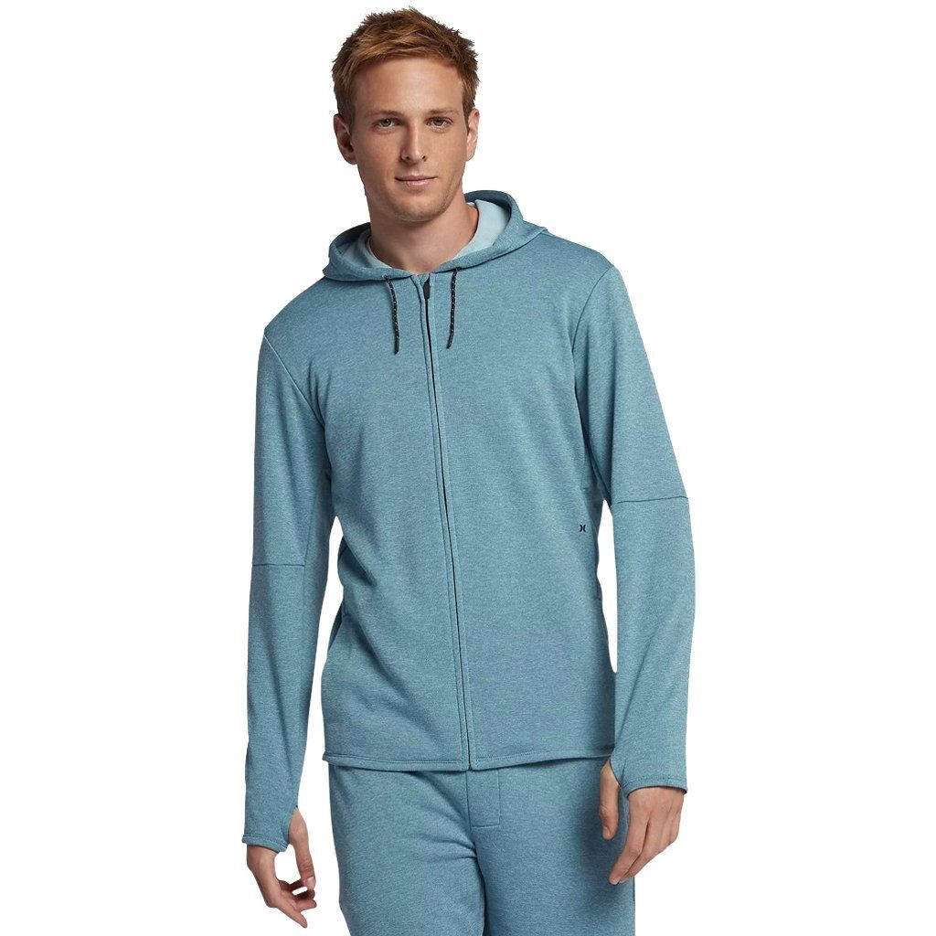 Hoodie - Hurley Dri-Fit Expedition Aqua