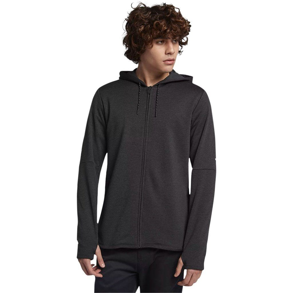 Hoodie - Hurley Dri-Fit Expedition Black Heather