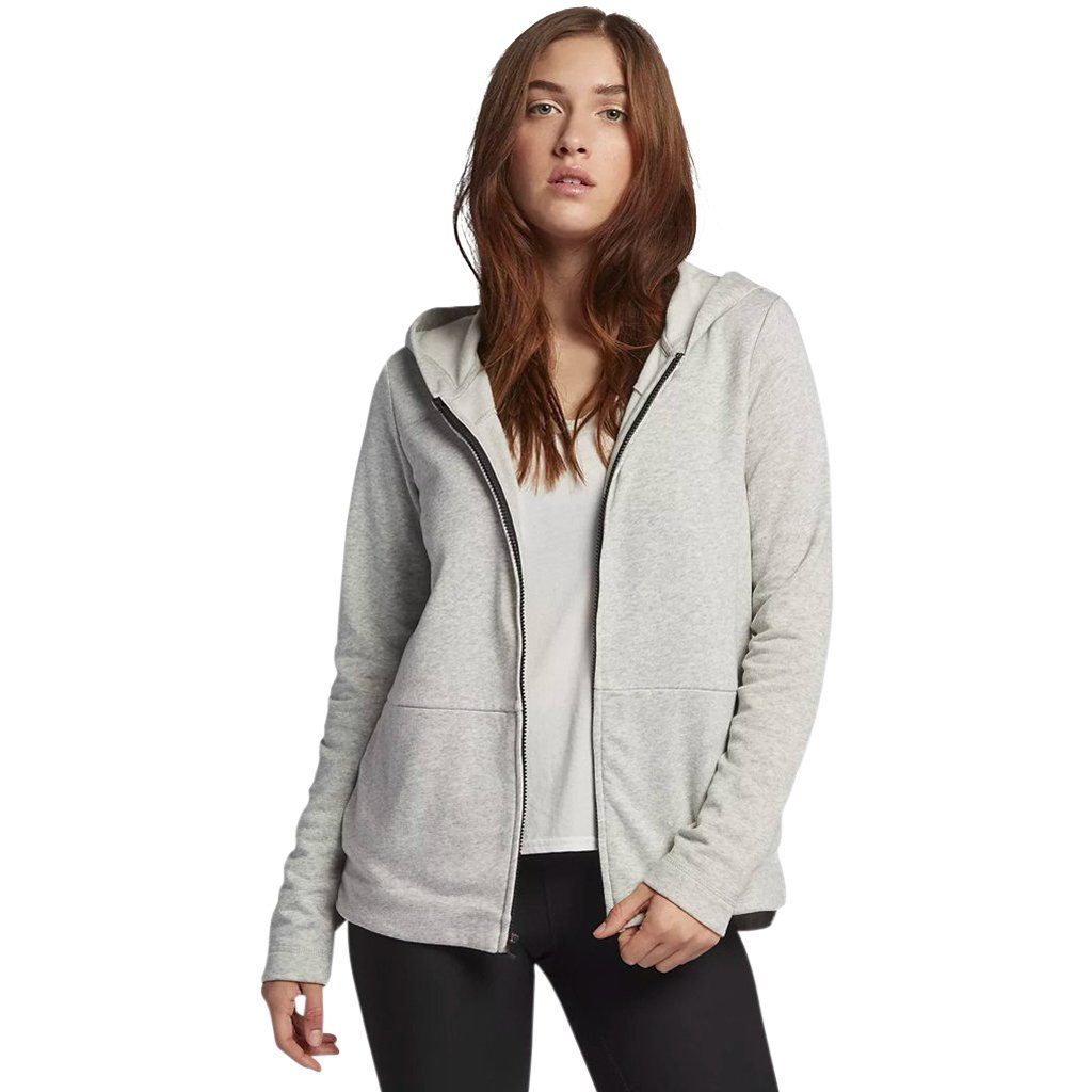 Hoodie - Hurley One & Only Fleece Heather Grey