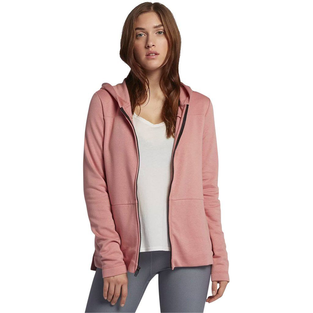 Hoodie - Hurley One & Only Fleece Rust Pink