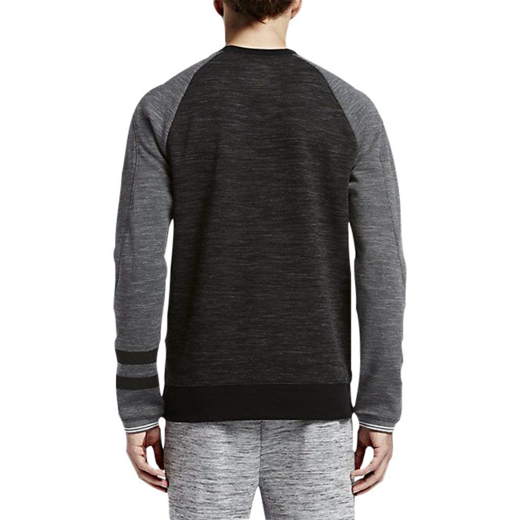 Hoodie - Hurley Phanton Advance Crew Black Heather