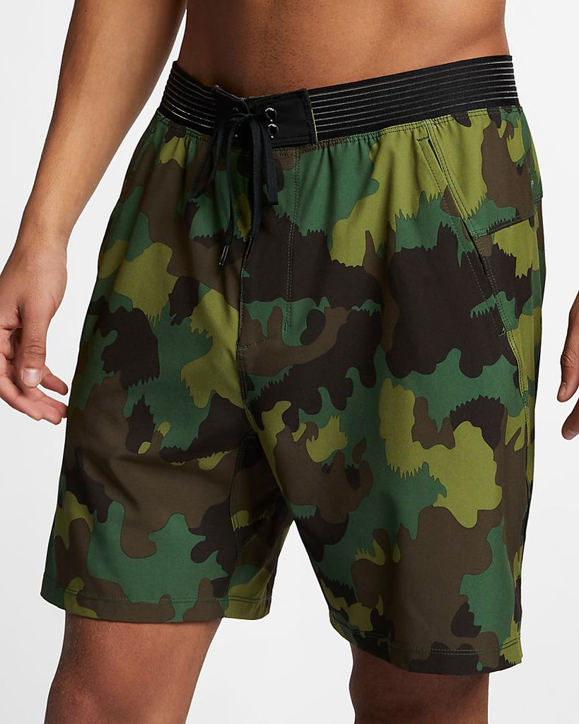 Hurley Phantom Alpha Trainer Shorts Camo