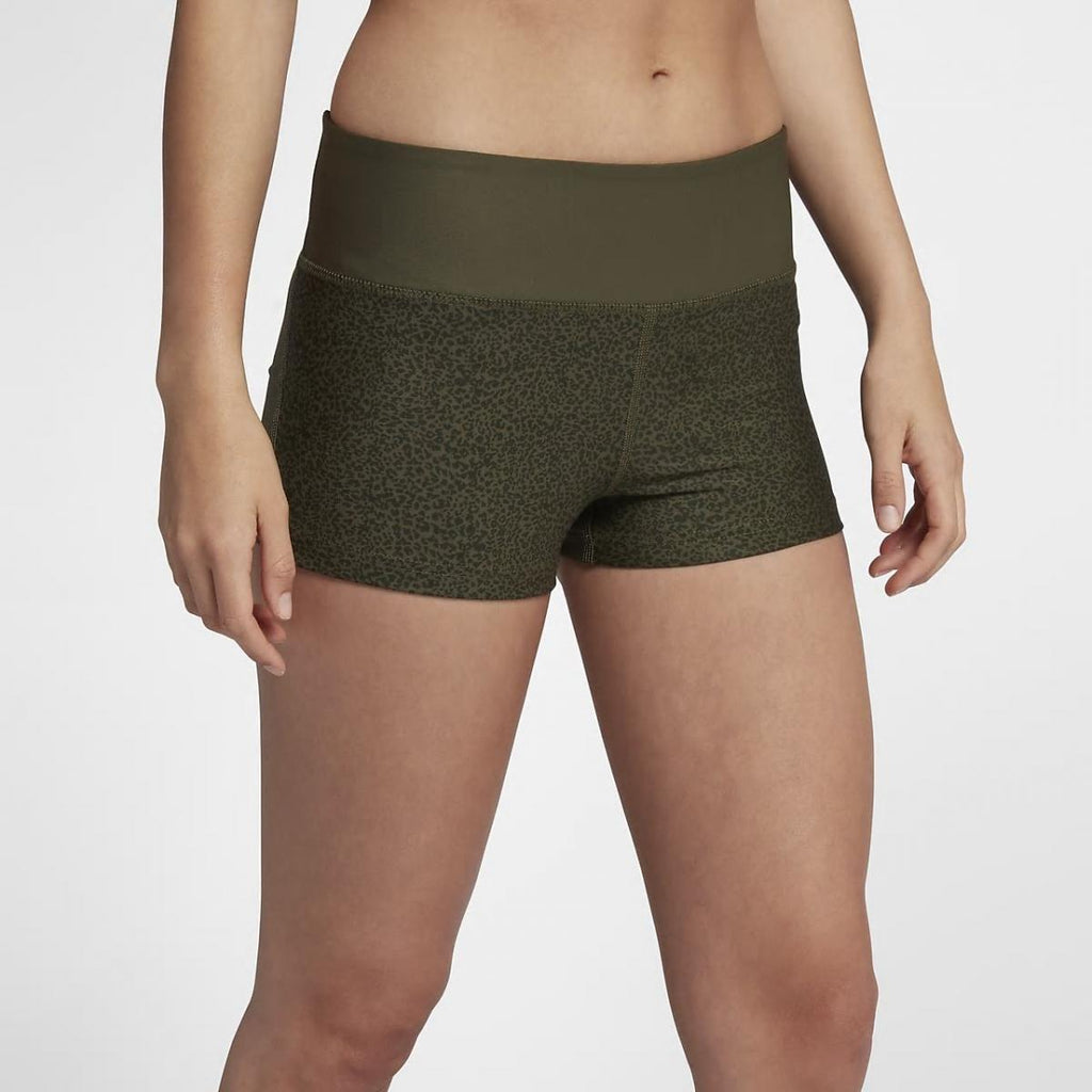 Hurley Cheetah Surf Compression Shorts Khaki