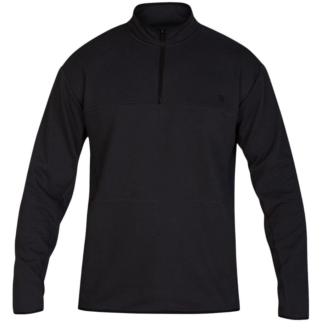 Hurley Dri-Fit Natural Track Quater Zip Off Noir