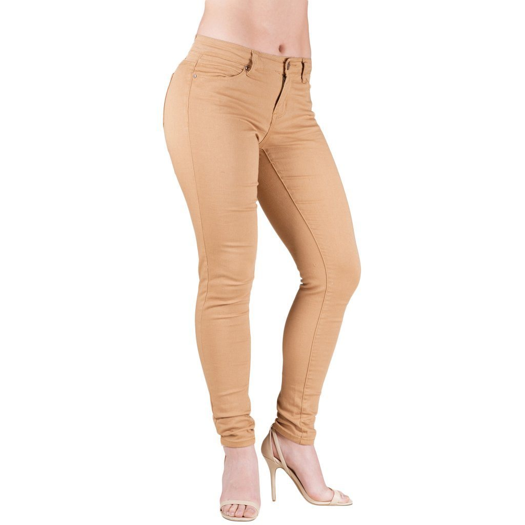 Jeans - Barbell Apparel Athletic Women's Chino In Khaki