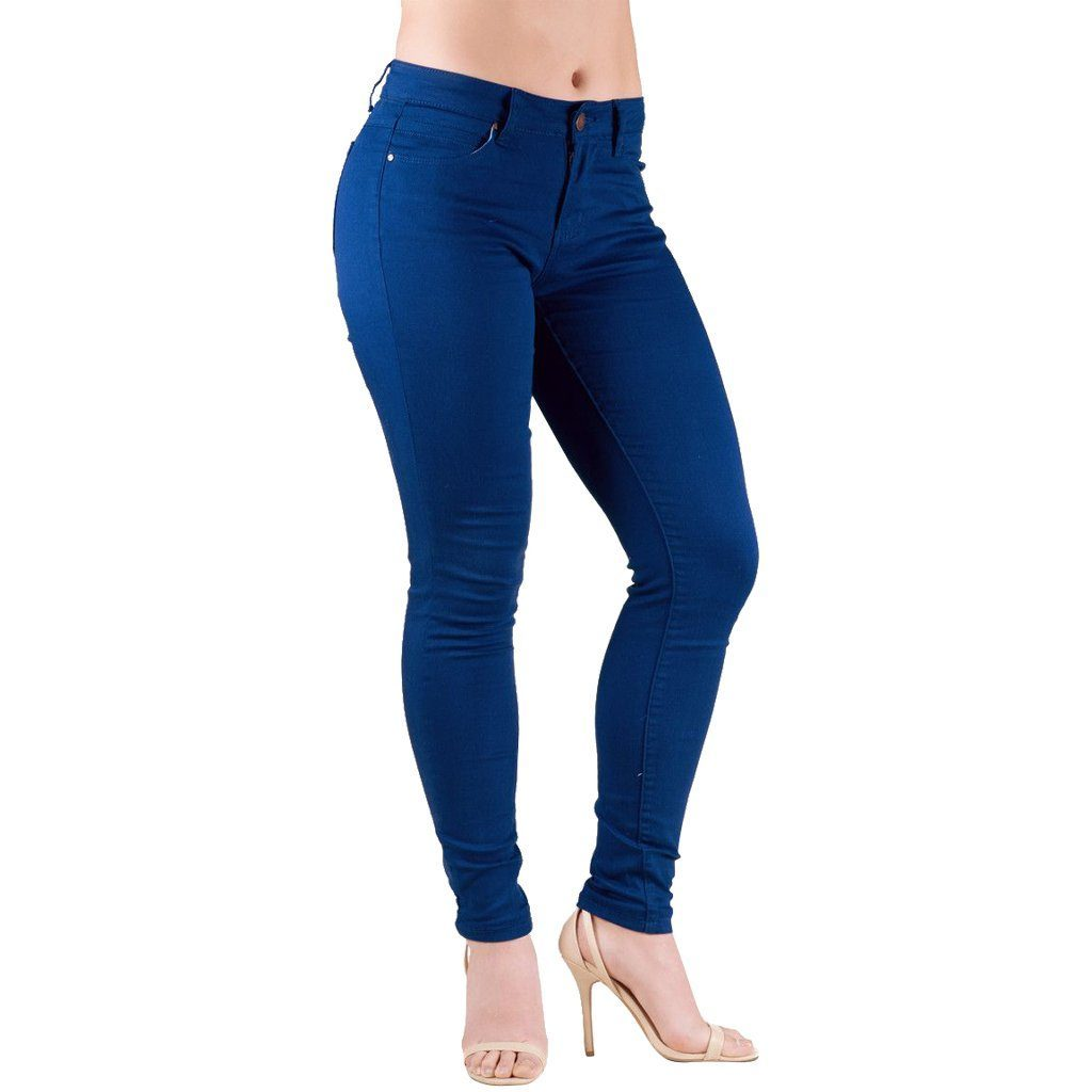 Jeans - Barbell Apparel Athletic Women's Chino In Navy