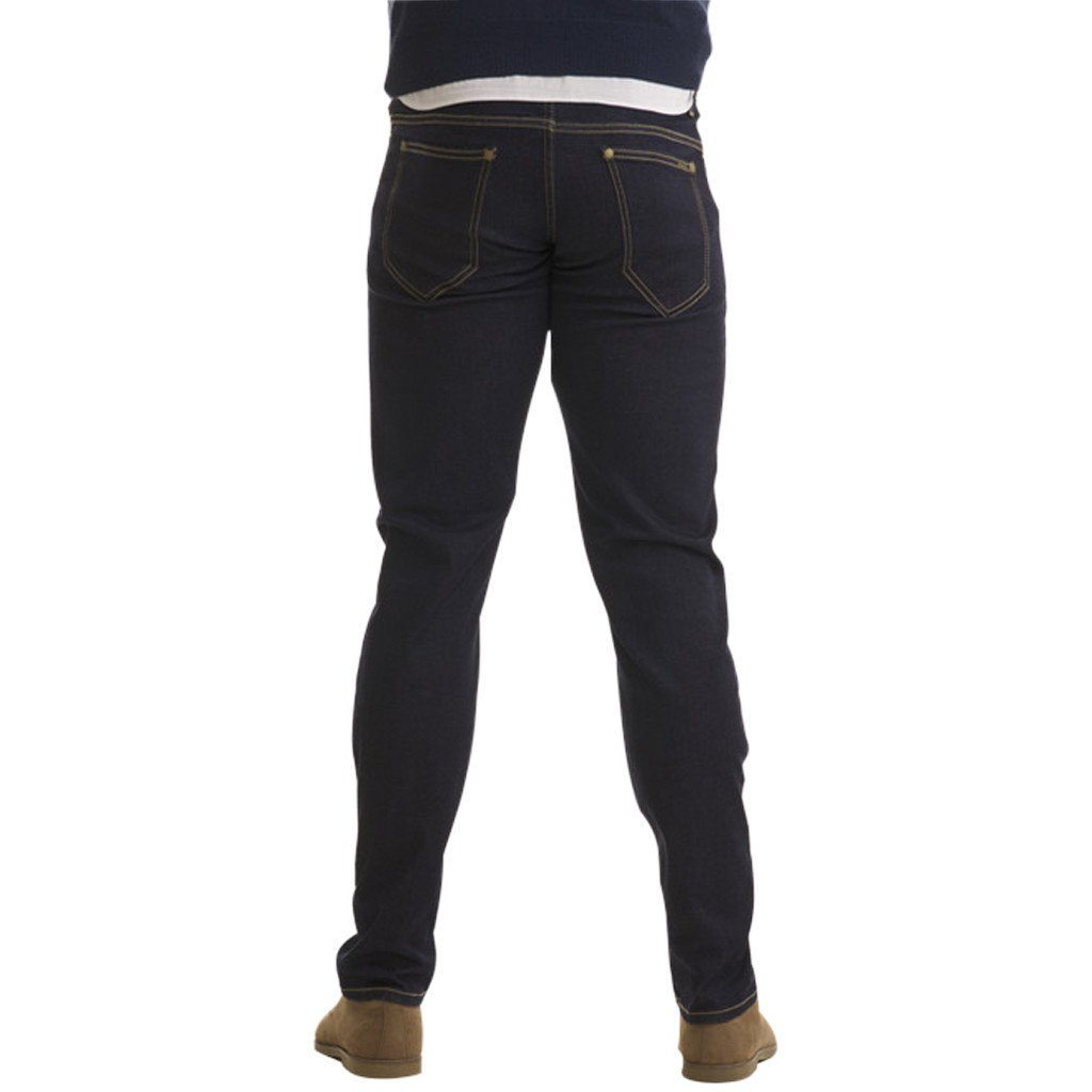 Jeans - Olympvs Athletic Fit Indigo Wash Jeans