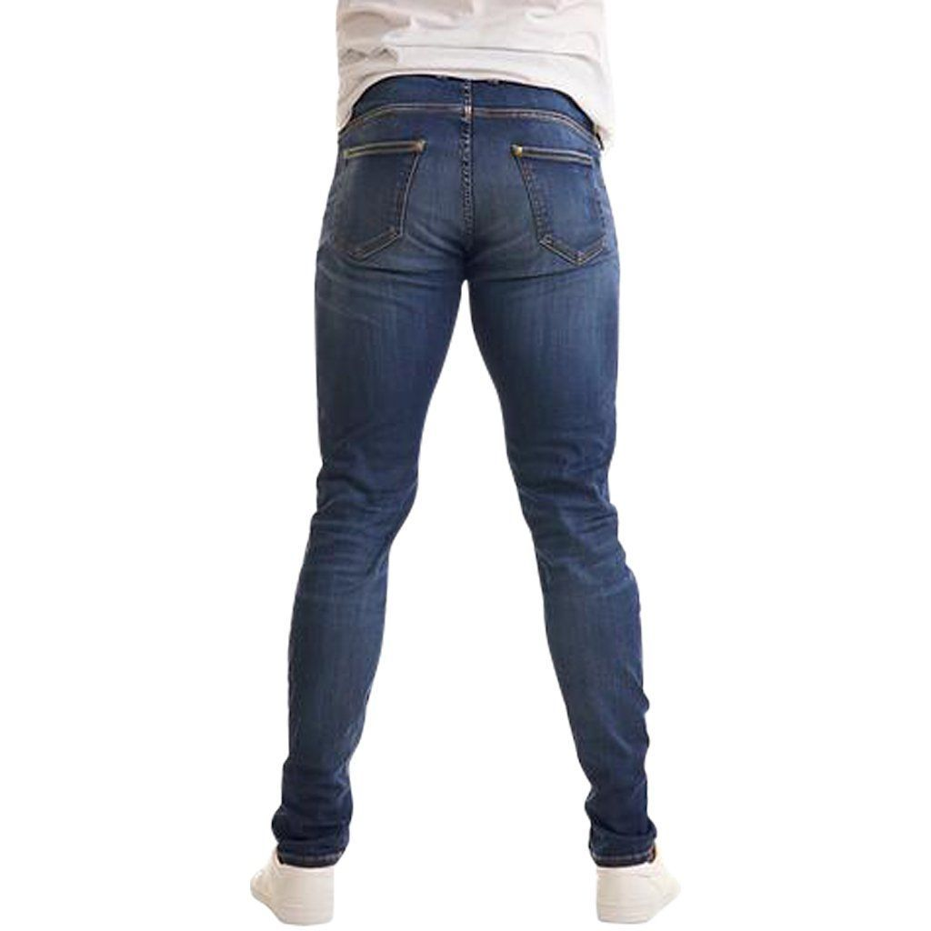 Jeans - Olympvs Athletic Fit Medium Wash Jeans