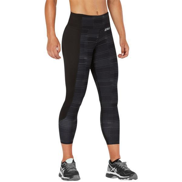 Leggings - 2XU Fitness Comp Tights Black / Charcoal