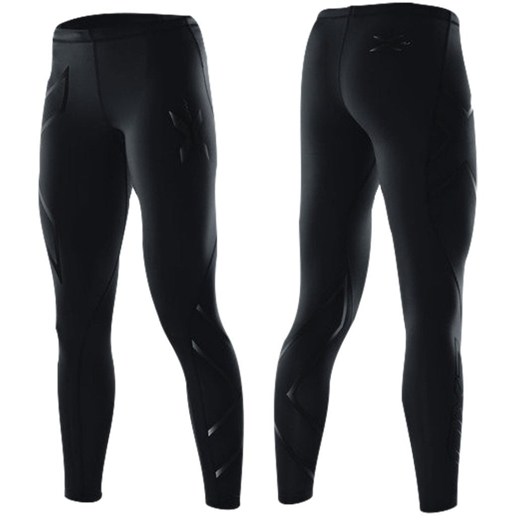 Leggings - 2XU LOCK Compression Tights Black/Nero