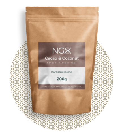 NGX Cacao & Coconut Flavour Add In (200g)