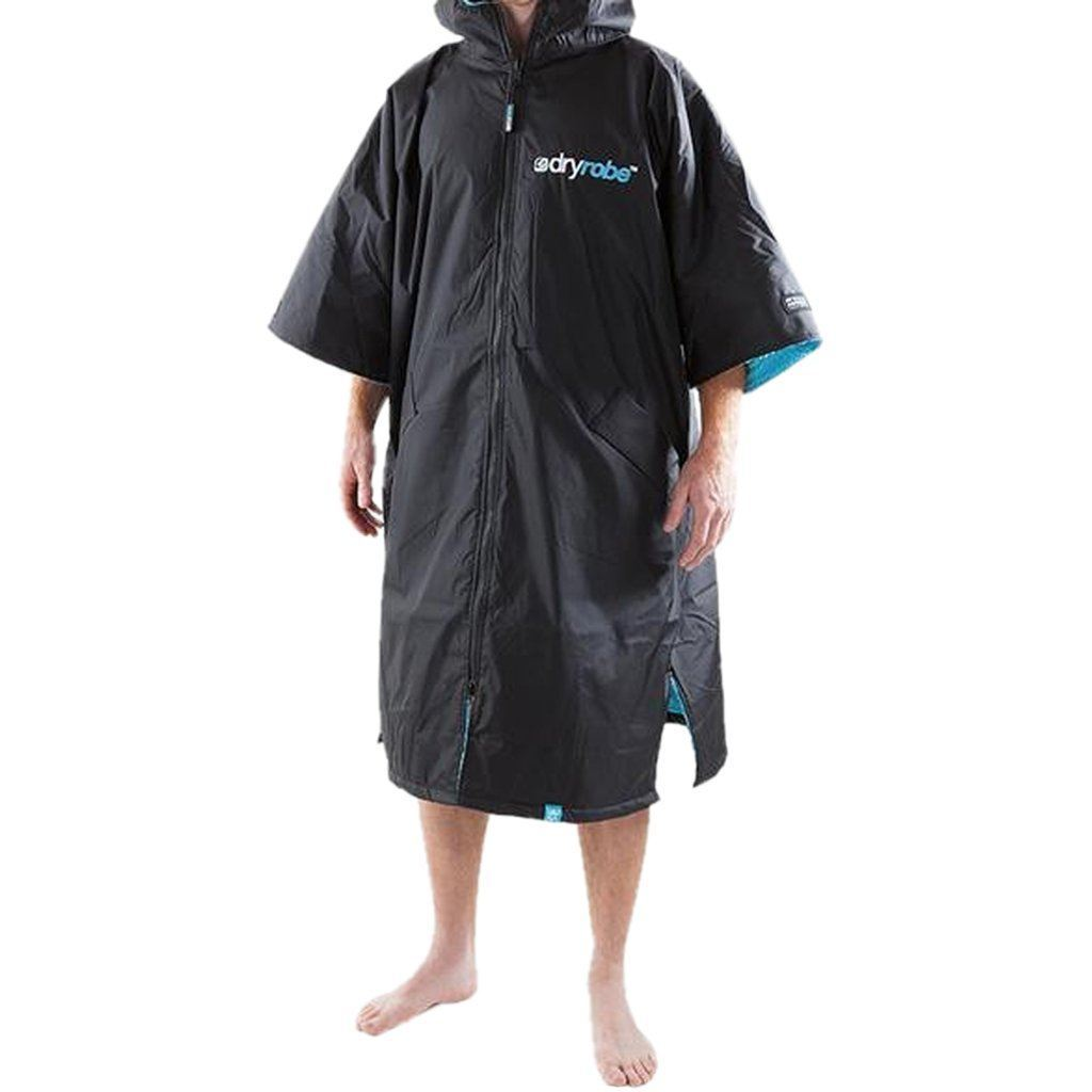 Outerwear - Dryrobe Black And Blue