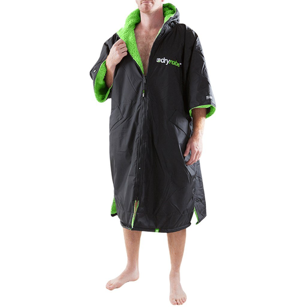 Outerwear - Dryrobe Black And Green