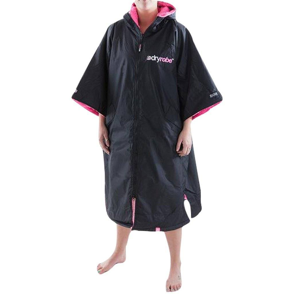 Outerwear - Dryrobe Black And Pink