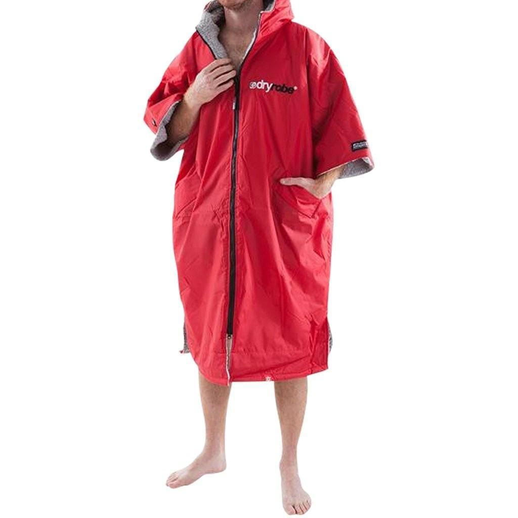 Outerwear - Dryrobe Red And Grey
