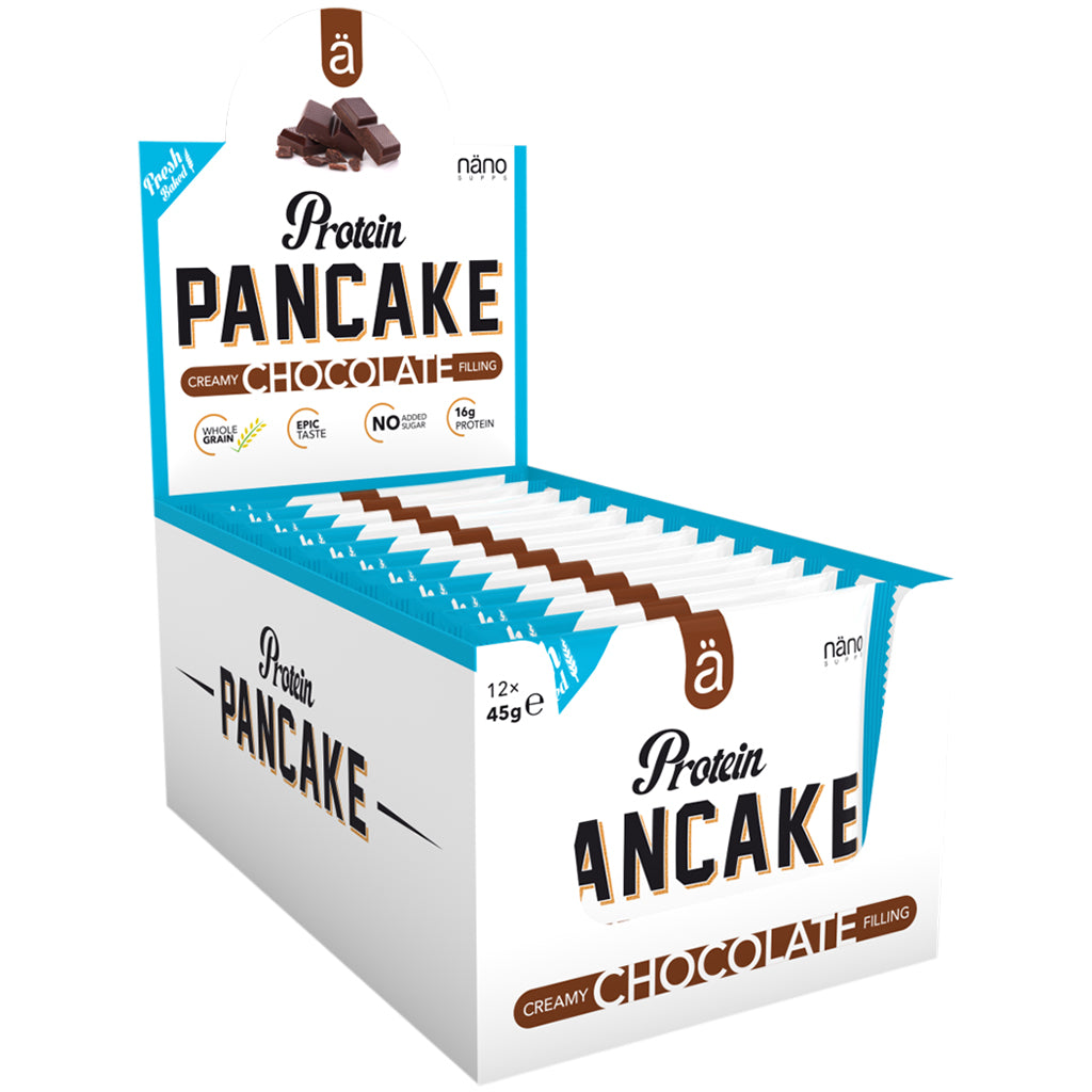 Nano Supps Chocolate Protein Pancake 12 x 45g