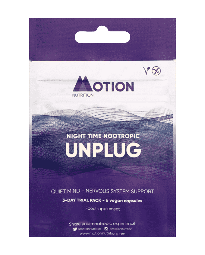 Motion Nutrition Unplug Sampler