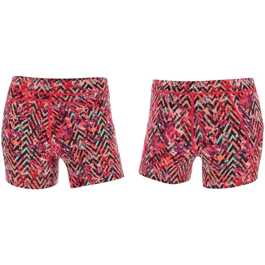 Shorts - 2XU Printed Kinetic Short Pink Alpine Print