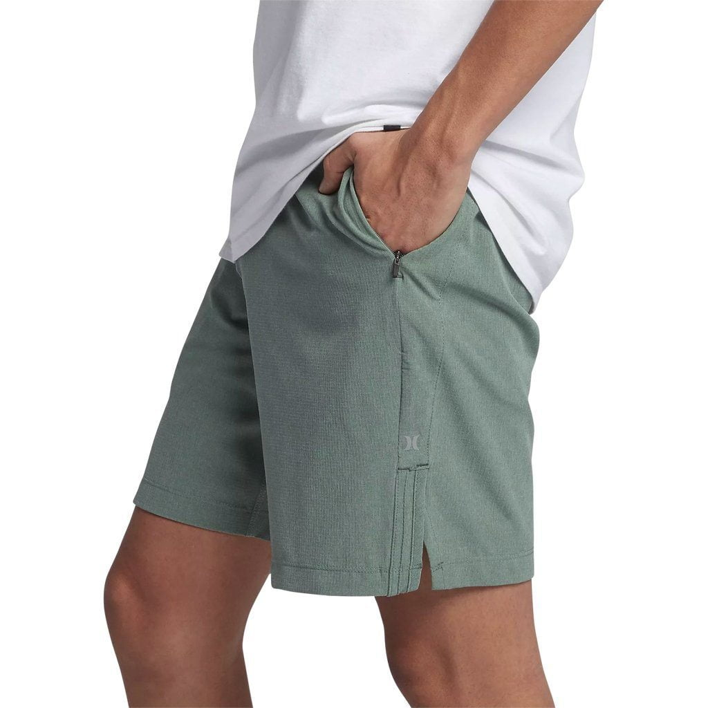 Shorts - Hurley Alpha Plus Trainer 2.0 18.5' Clay Green