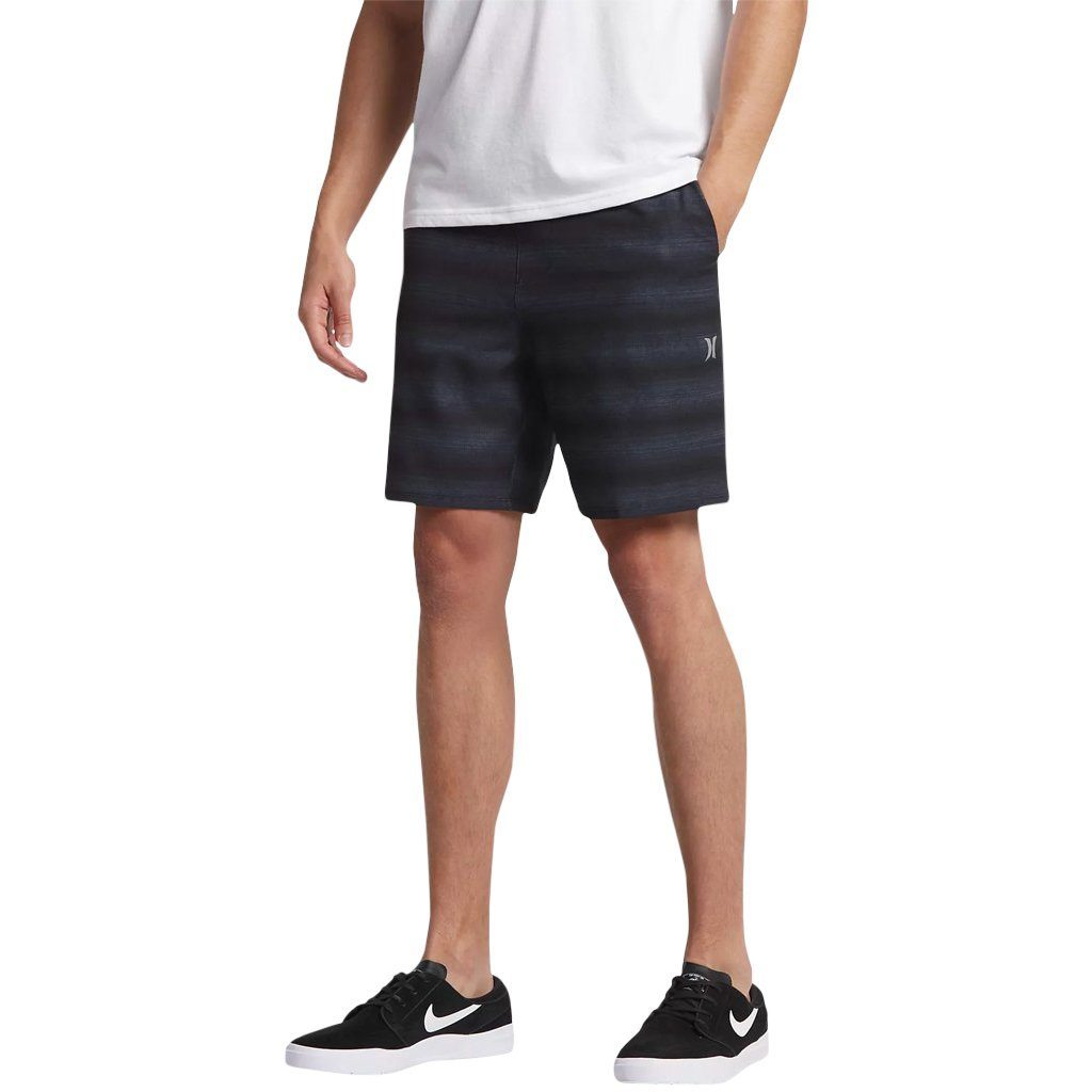 Shorts - Hurley Alpha Trainer Slider Black