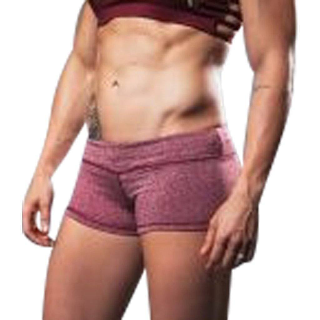 Shorts - Vull Champion Shorts Heathered Red