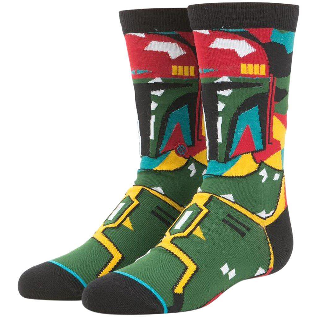 Socks - Stance Star Wars Boba Mosiac Boys Sock