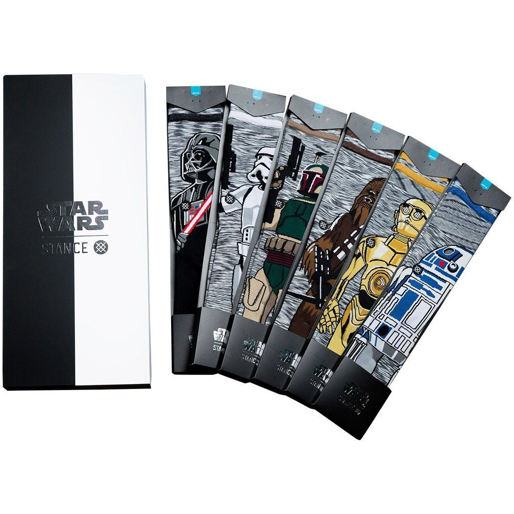 Socks - Stance Star Wars Classic 6 Pack Gift Box