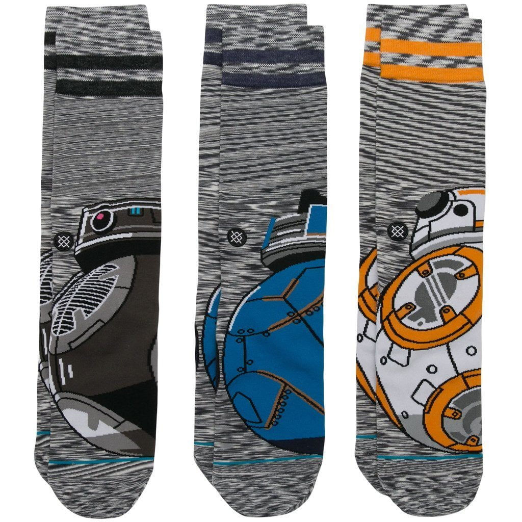 Socks - Stance Star Wars Droid 3 Pack Sock