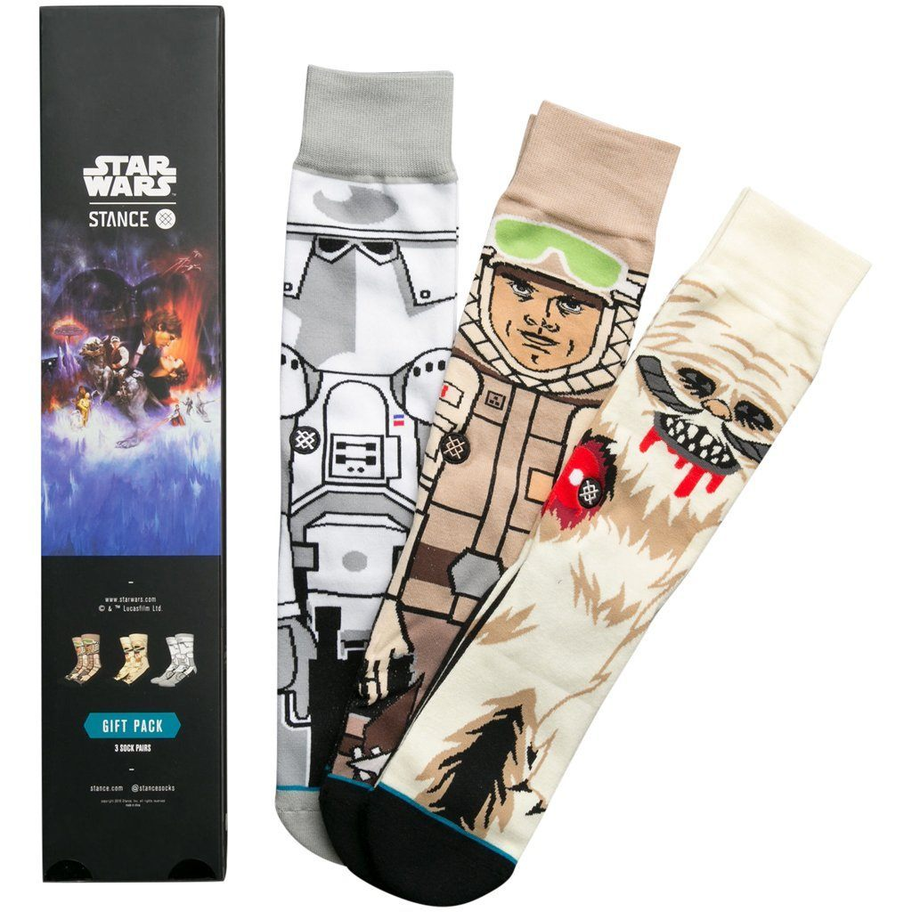 Socks - Stance Star Wars The Empire Strikes Back 3 Pack Box Set