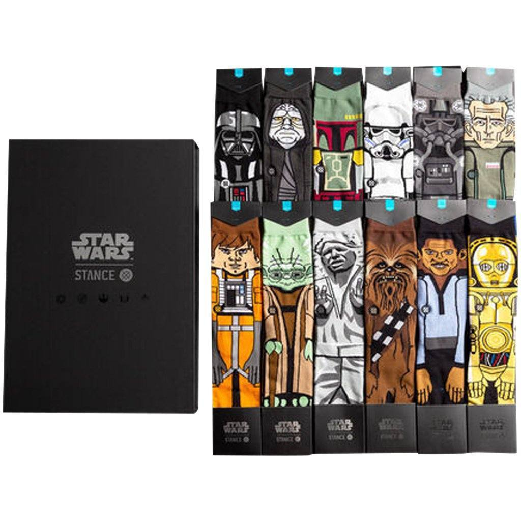 Socks - Stance Star Wars The Force 2 12 Pack Box Set