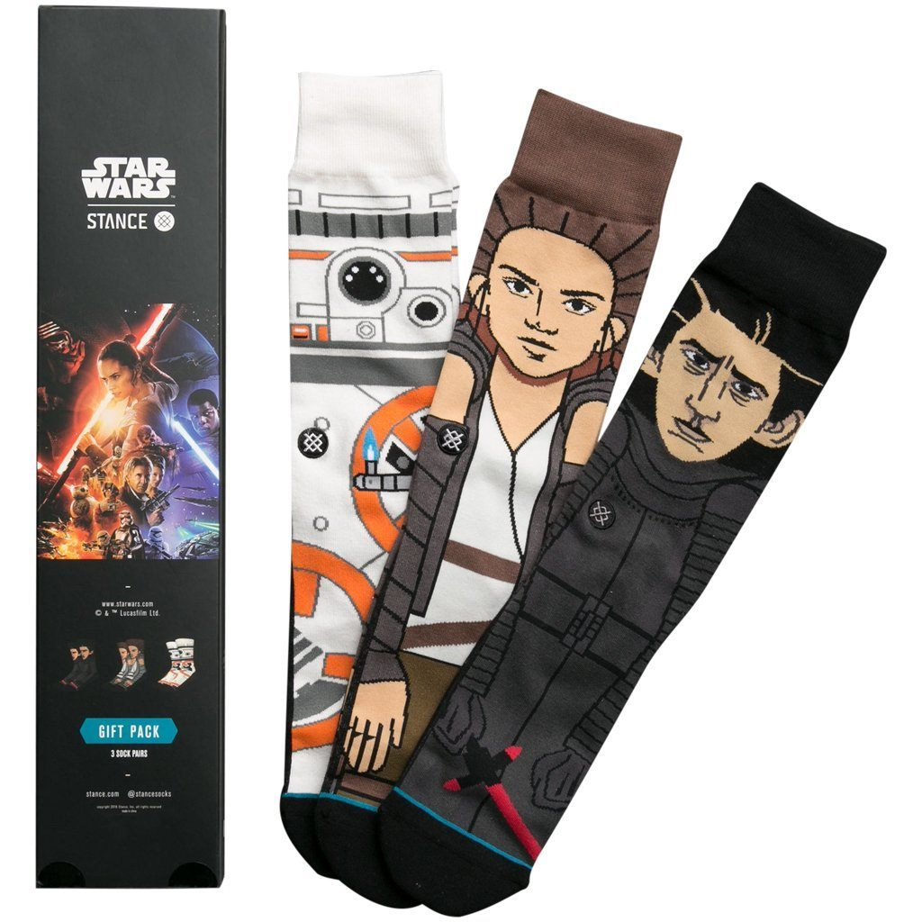 Socks - Stance Star Wars The Force Awakens 3 Pack Box Set