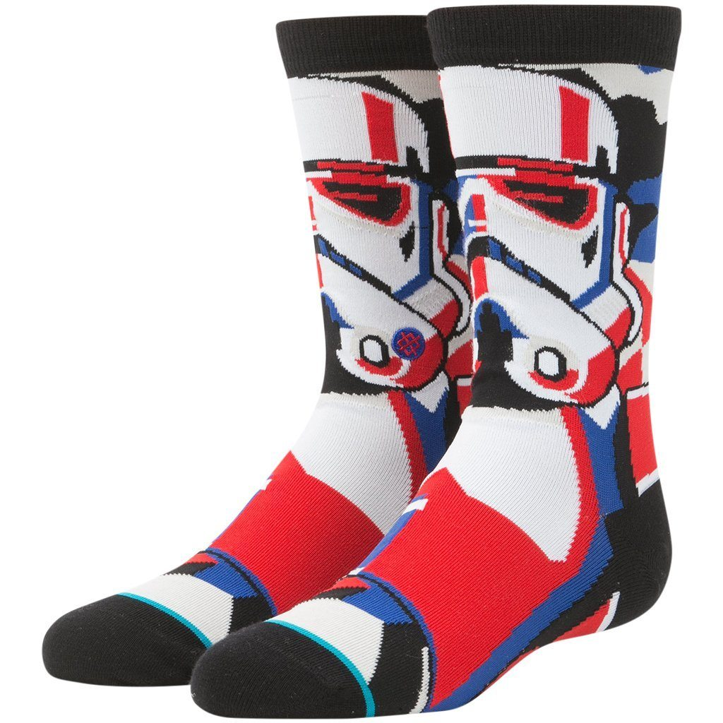 Socks - Stance Star Wars Trooper Mosiac Boys Sock