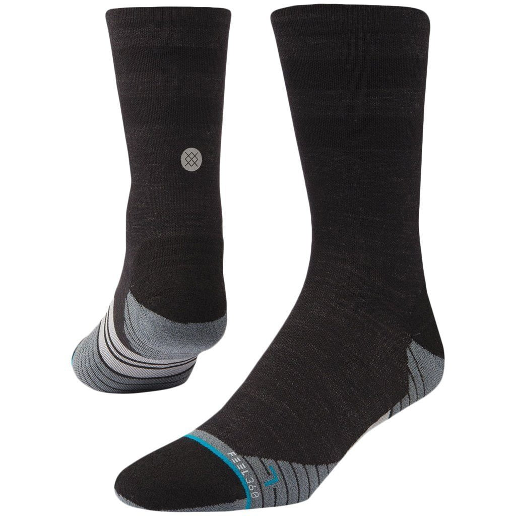 Socks - Stance Uncommon Solids Wool Crew Charcoal