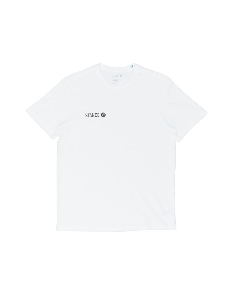 Stance Origin Short Sleeve T-Shirt White