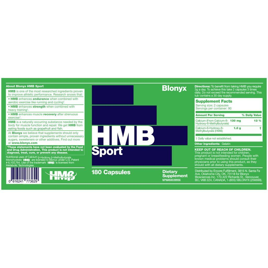 Supplements - Blonyx HMB Sport