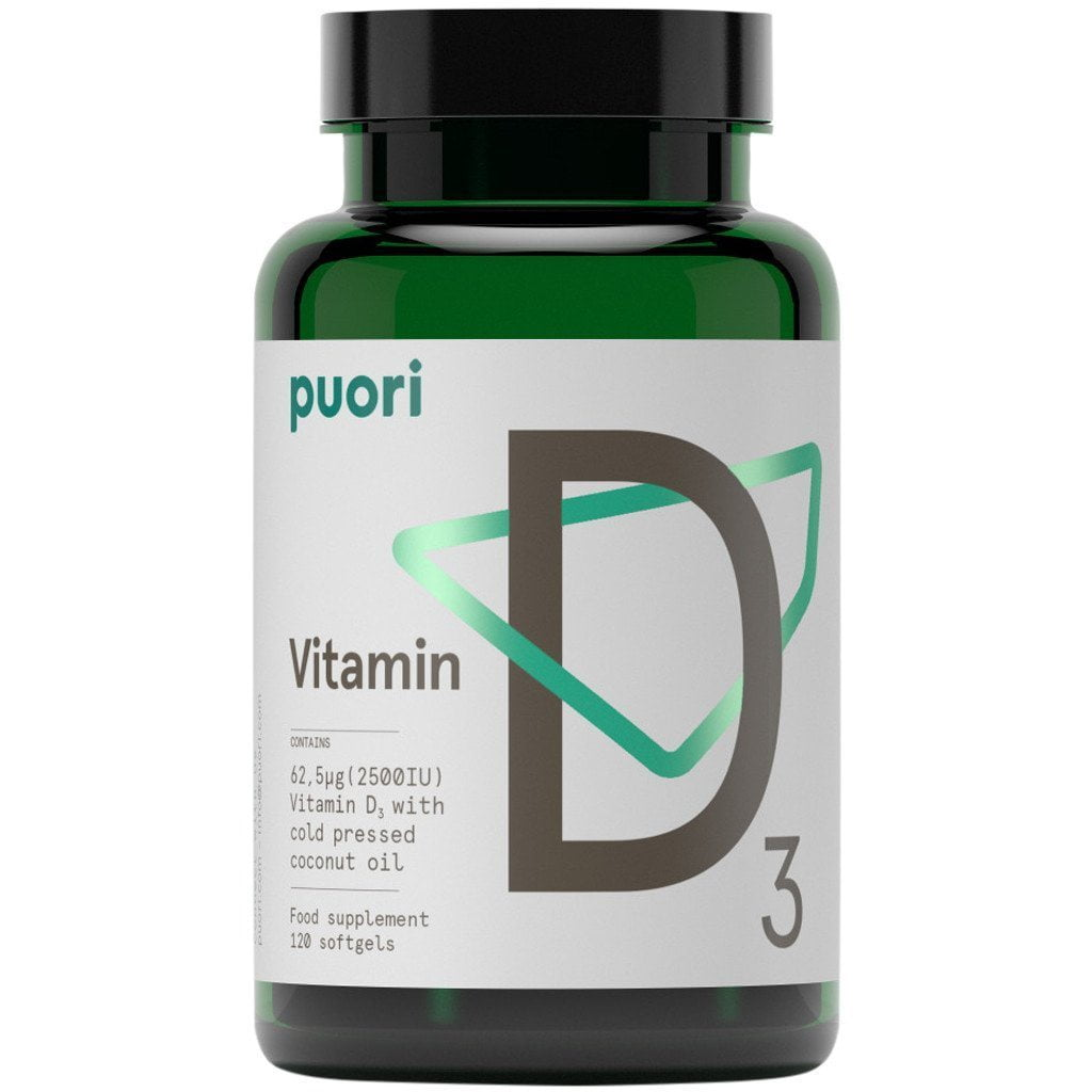 Supplements - Puori D3 120 Capsules