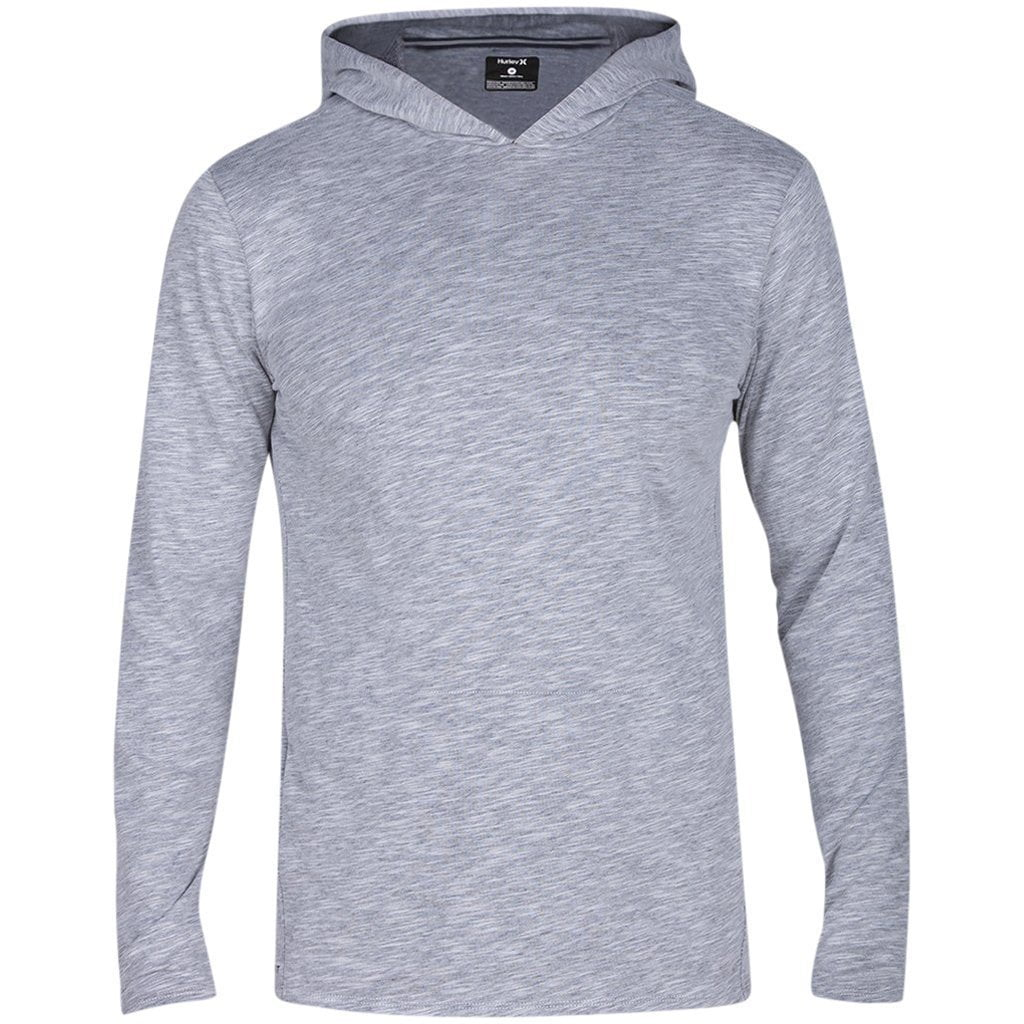 Sweatshirt - Hurley Dri-Fit Lagos Hooded Pullover Dark Grey