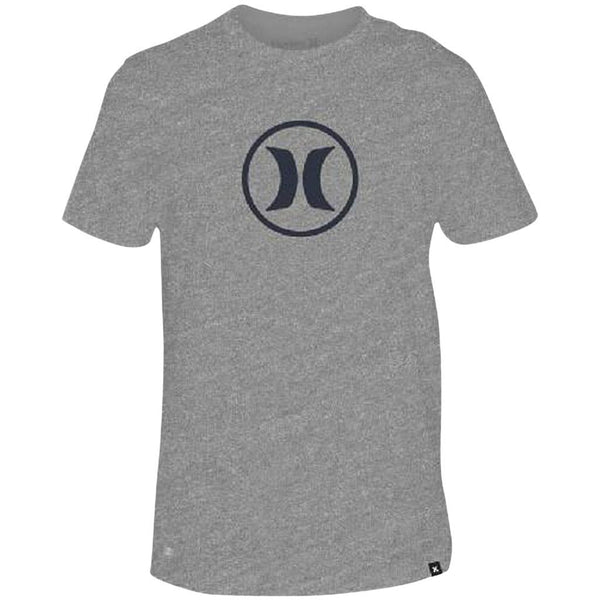 T-Shirt - Hurley Dri-Fit Circle Icon Grey Heather