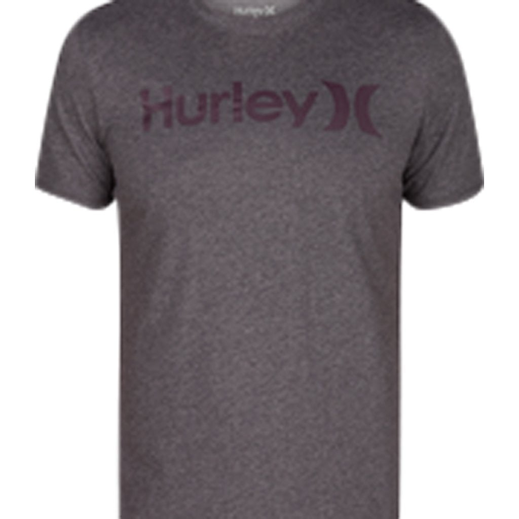 T-Shirt - Hurley Dri-Fit One & Only Charcoal Heather
