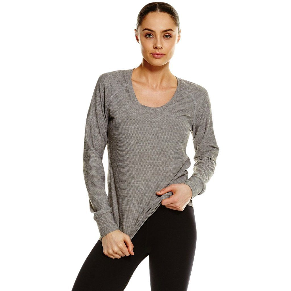 T-Shirts & Vests - 2XU Dry Xstudio Long Sleeve Top Moon Grey / Marle
